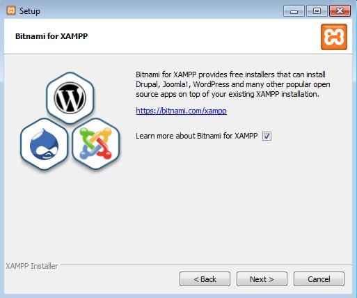 Instalación XAMPP paso4