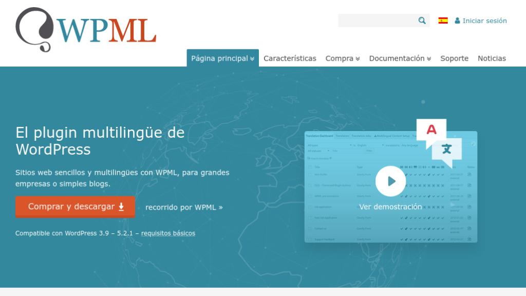 Wordpress multilanguage WPML