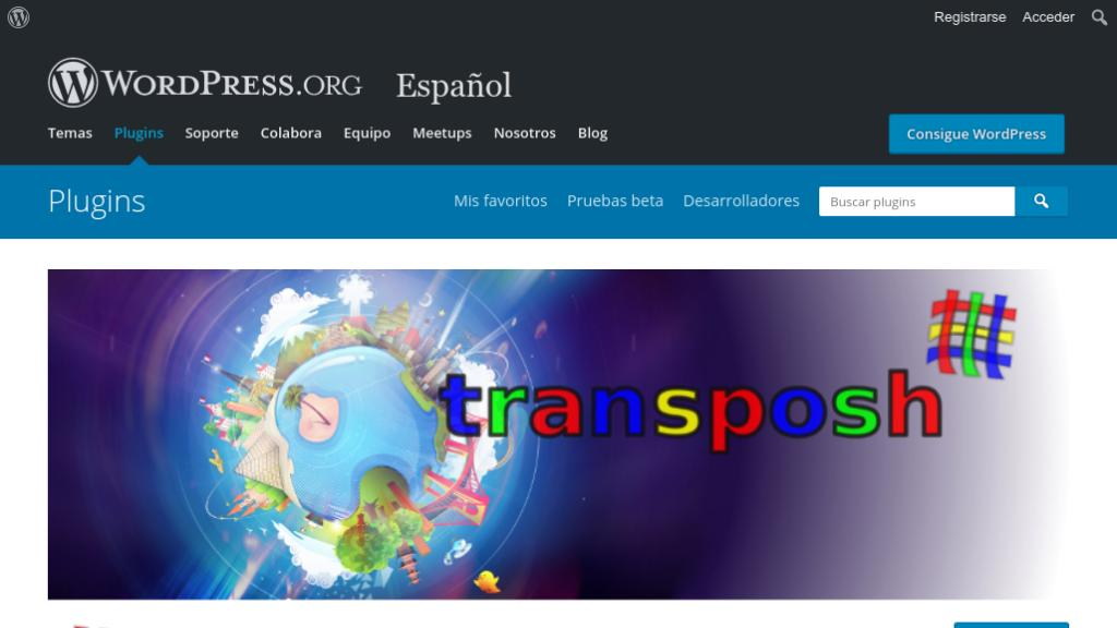 Transposh plugin wordpress